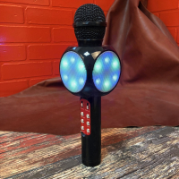 Микрофон караоке светящийся