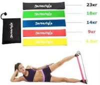 Фитнес резинки (набор из 5 штук)
