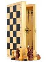 Игра 3в1 (шашки,шахматы,нарды) 400x200x36