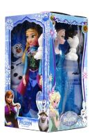 Кукла Холодное сердце 4в1 42А