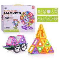 Магнитный конструктор MagKiss mini 78 дет. HD342A