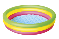 Детский надувной бассейн (102х25см) с надувным дном 51104