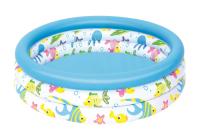 """Детский надувной бассейн (102х25см) """"Океан"""" 51008"""