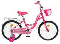 """Велосипед 14"""" Graffiti Premium Girl, цвет розовый/белый 4510671"""