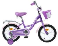 """Велосипед 14"""" Graffiti Premium Girl, цвет сиреневый/розовый 4510672"""