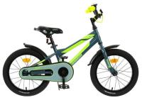 Велосипед 16 Graffiti Deft, цвет серый/салатовый 5267467