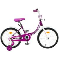 "Велосипед 18"" Graffiti Fashion Girl, цвет бордовый 4510739"