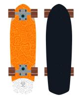Круизер деревянный RIDEX Orange 28.5″X8.25″