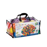 """Мячики для игровых центров и сухих бассейнов """"Фан болз"""" 100шт (диаметр 6,5см) 49602"""
