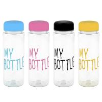 Бутылка My Bottle с цветной надписью