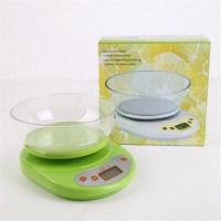 Весы кухонные электронные до 5 кг. с чашей КЕ-1