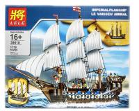 Конструктор LELE 39010 (1779) Пиратский корабль