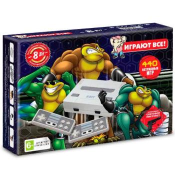 Денди Dendy Battle Toads 440в1 с пистолетом