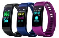 Фитнес браслет Y5 с цветным дисплеем